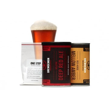 BD Hellfire Deep Red Ale Basic на 7,5л